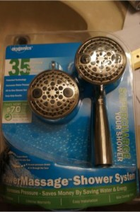 oxygenics powermassage shower system