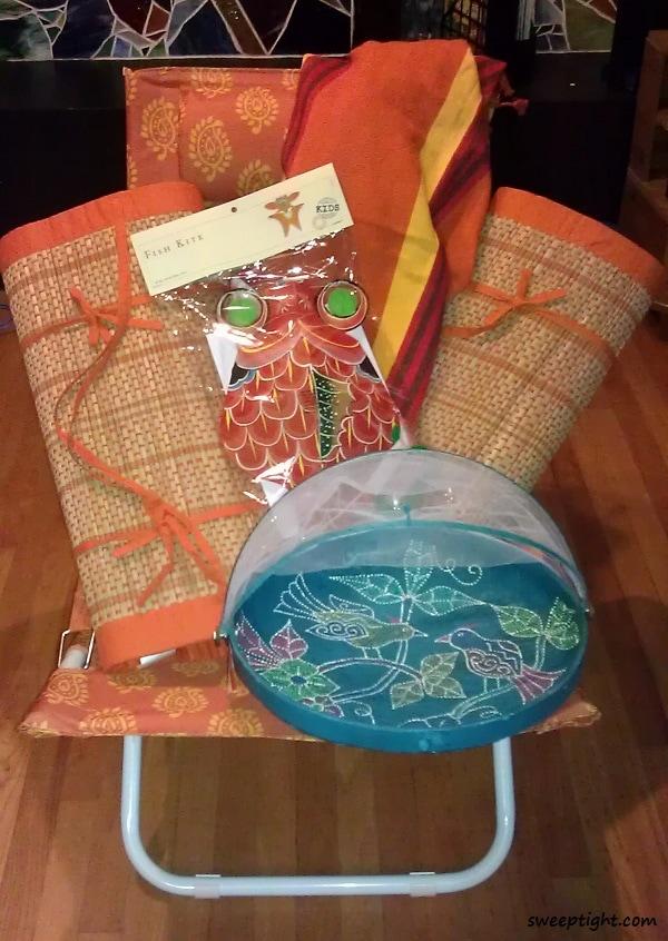 World Market beach picnic supplies