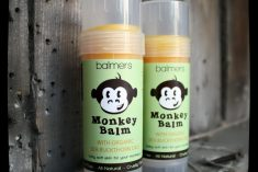 Monkey Balm soothes rashes