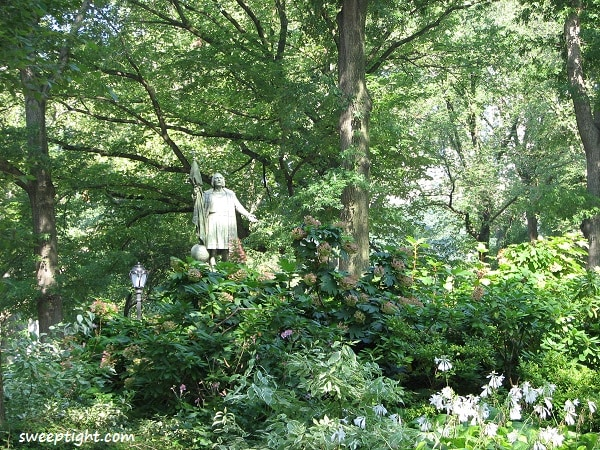 beautiful Central Park garden