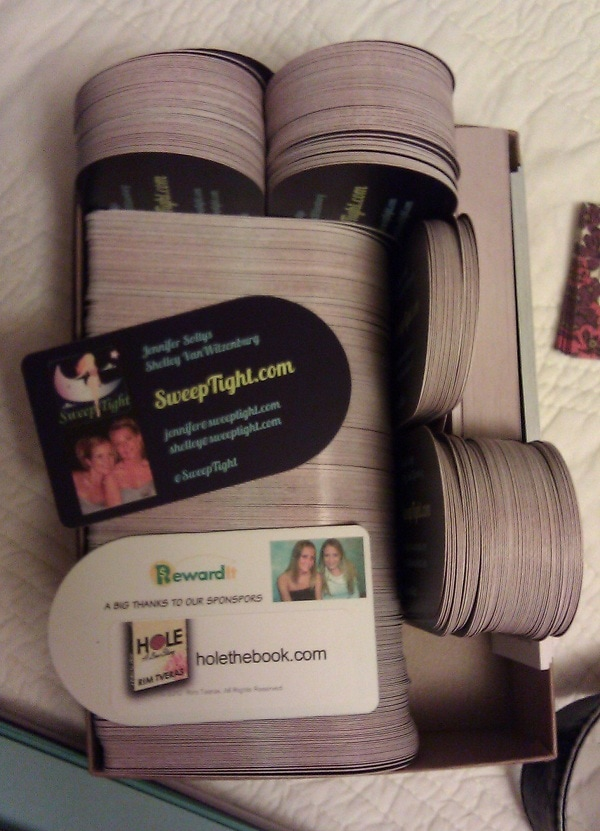 business cards for BlogHer