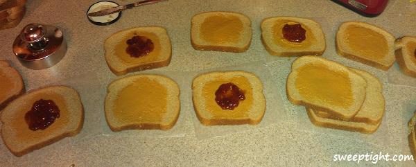 recipe step 3 fruit spread