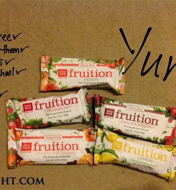Healthy snacks for school work and travel