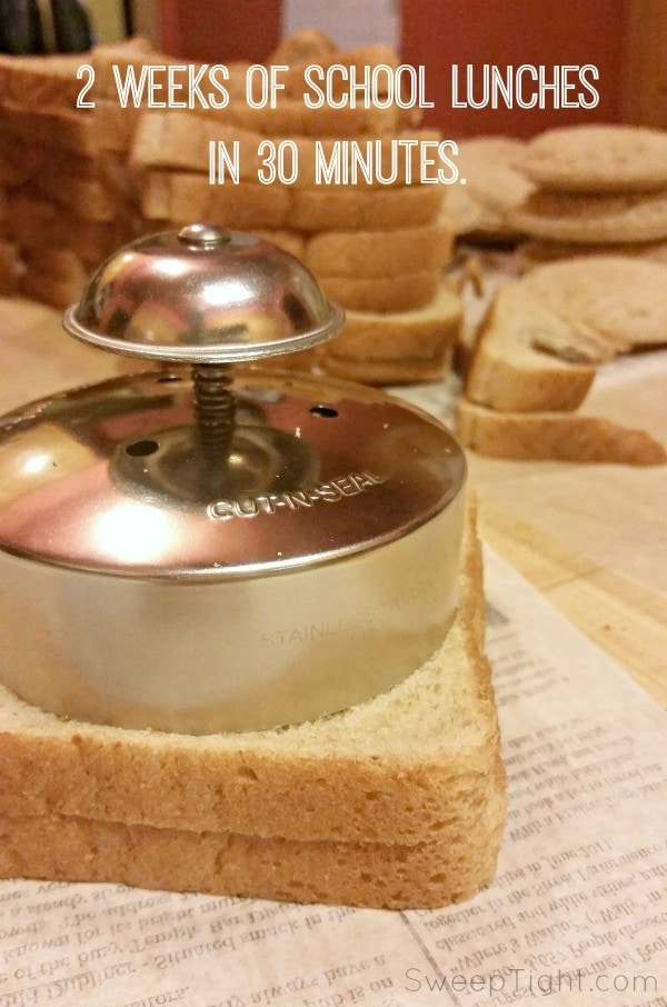 Freezer friendly pod sandwich recipe perfect for back to school lunches. Freeze. Grab in the morning and it's thawed to perfection by lunchtime!