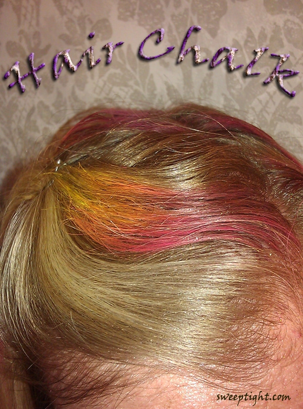 Chalk for hair MyHairChalk.com