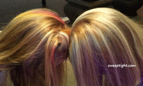 Boost Your Style With Hair Chalk