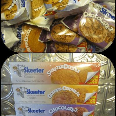 Nut Free Cookies from Skeeter Snacks