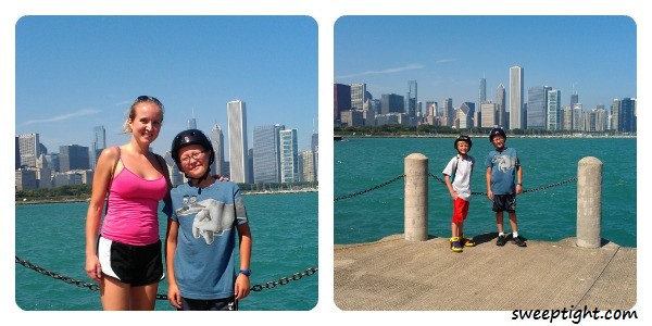 Familly fun in Chicago