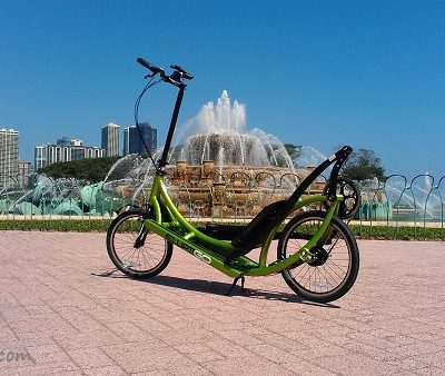Fun in Chicago with the ElliptiGo