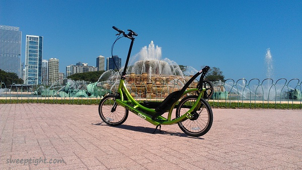 ElliptiGo elliptical bike