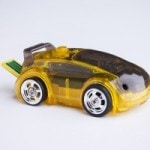 Tiny Race Car Controlled by your Smartphone
