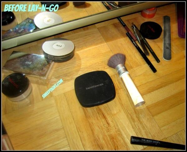 makeup before