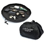 Quick Storage for Makeup and Toys with Lay-n-Go