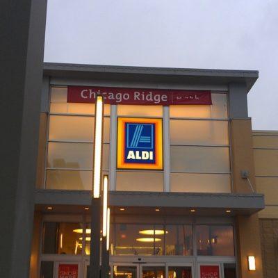 ALDI shop in the mall