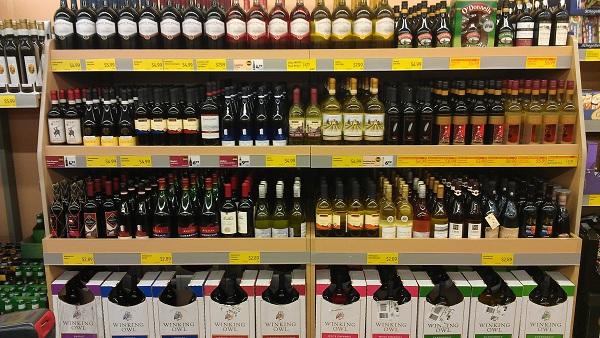 Shop Aldi Wine Selection