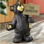 Engraved Welcome Bear from Personal Creations