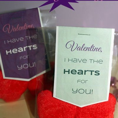 Printable Valentine's Day Craft: Hearts For You