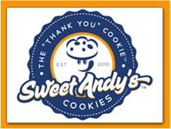 Sweet Andy's Cookies logo