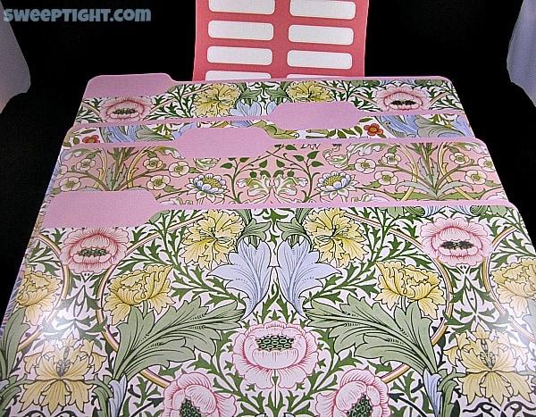 office candy flower folders