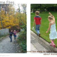 Children growing Time Flies