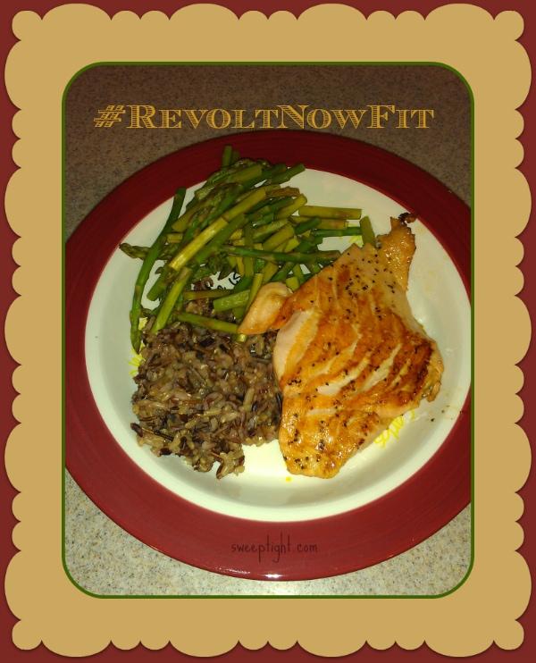 Revolt Challenge Fitness food