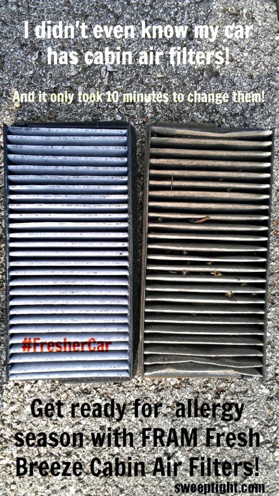FRAM Fresh Breeze Cabin Air Filters