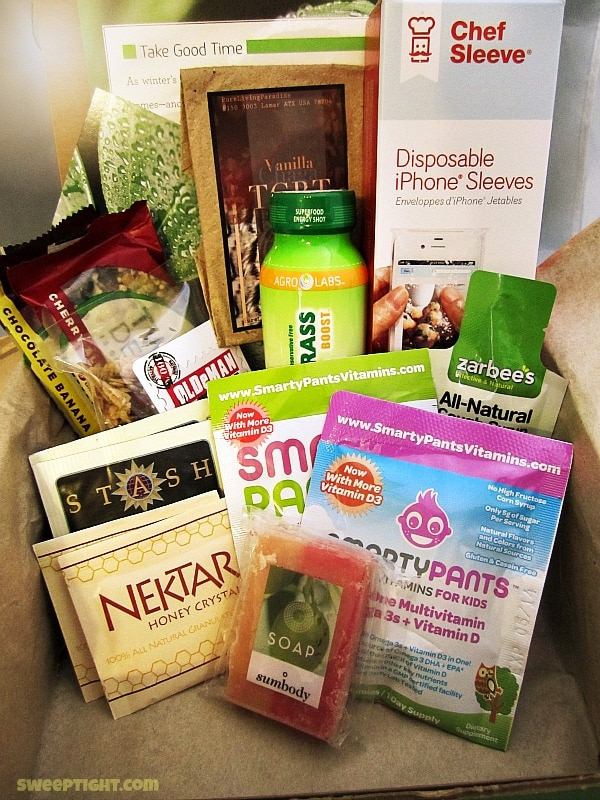 natural products from concsious box