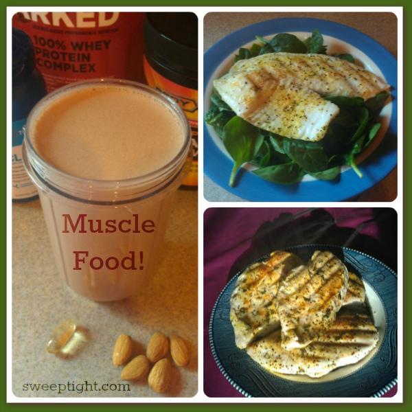 fitness challenge food