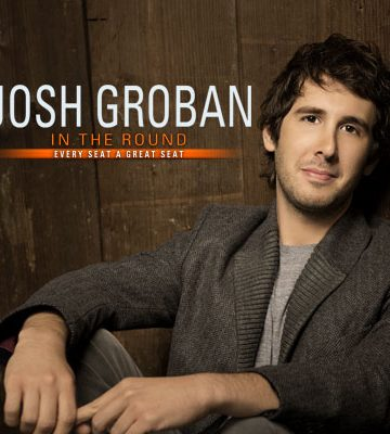 Josh Groban's North American Tour: In the Round
