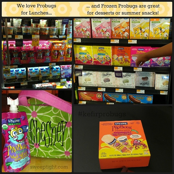 Frozen summer treats Probugs at Whole Foods