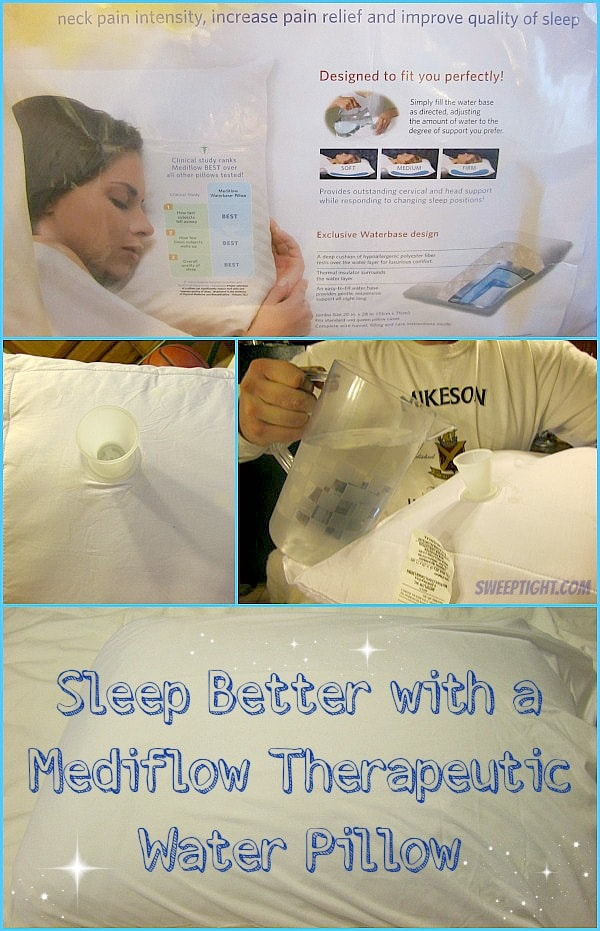 Sleep Better with a Mediflow Therapeutic Water Pillow