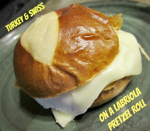 Turkey Sandwich on Labriola Pretzel Rolls