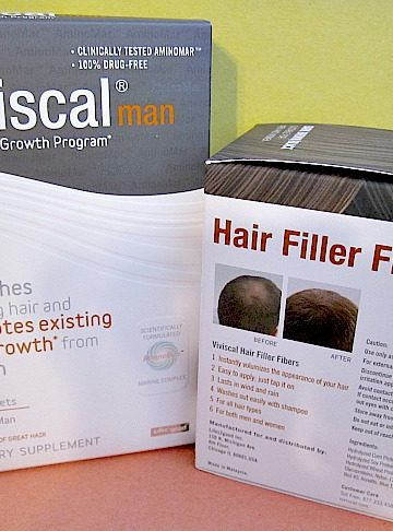 Nourish Your Man's Balding Head with Viviscal Man