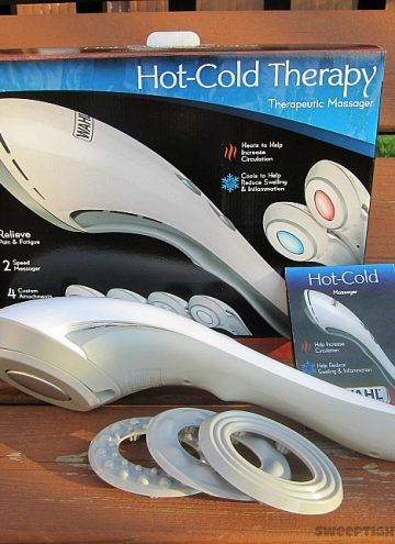 Therapeutic Massage with Wahl Hot-Cold Massager