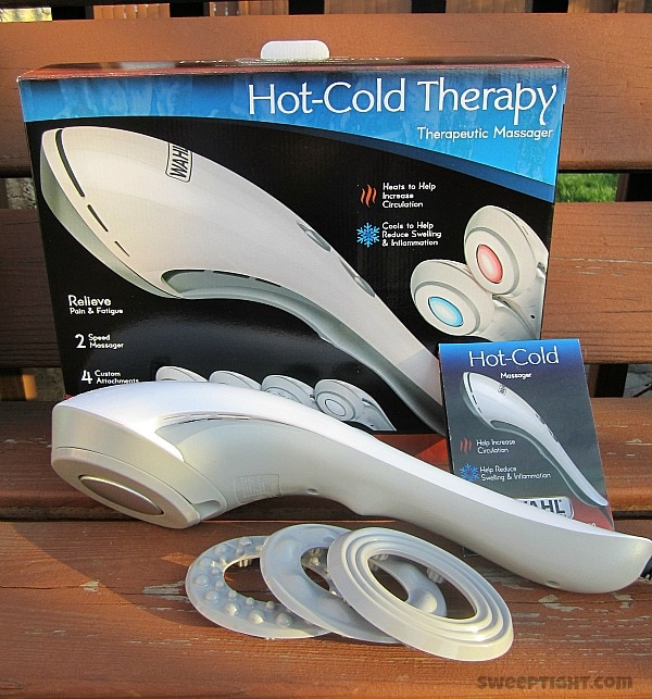 wahl hot cold massage massager