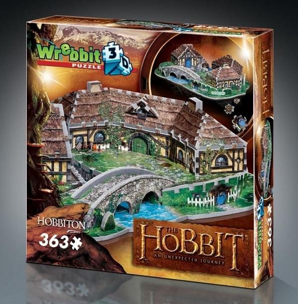 3D Hobbit Jigsaw Puzzles