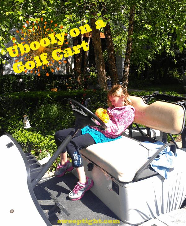 Ubooly-golf-cart