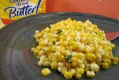 basil corn recipe