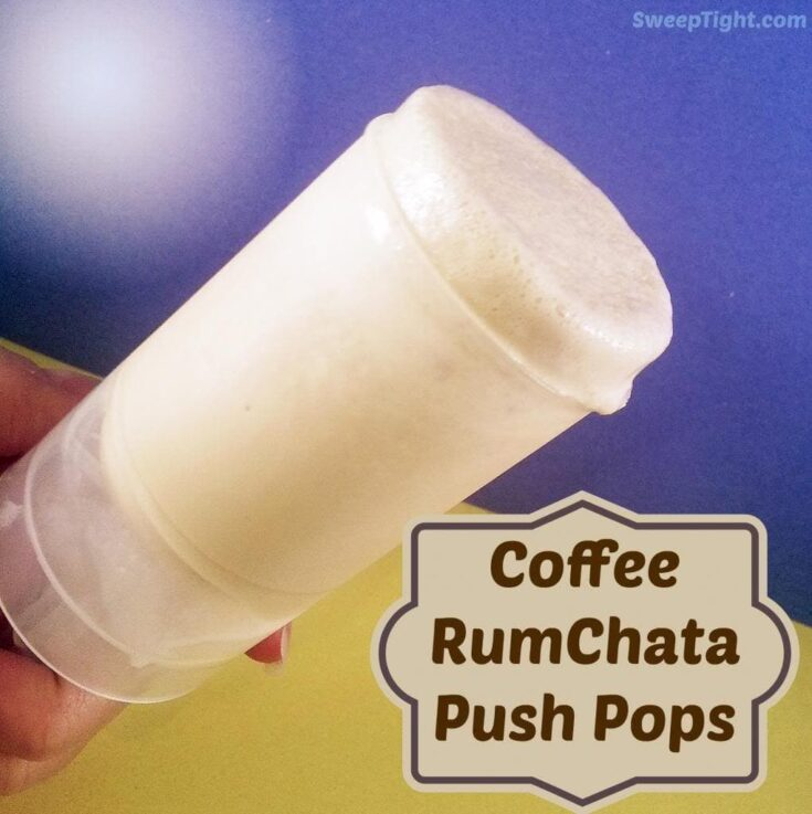 GEVALIA Coffee RumChata Push Up Pops Recipe