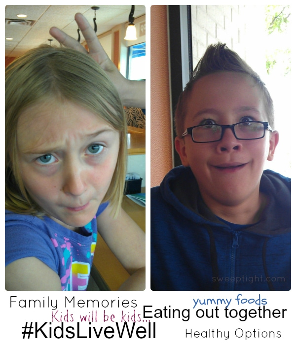 Kids Eat Healthy while dining out