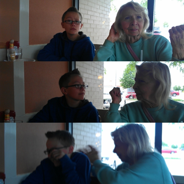 family fun while eating out