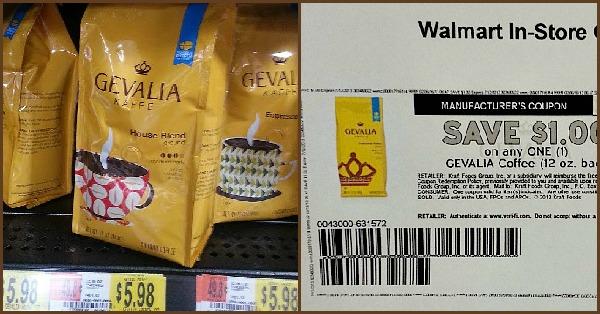 gevalia and money saving coupon