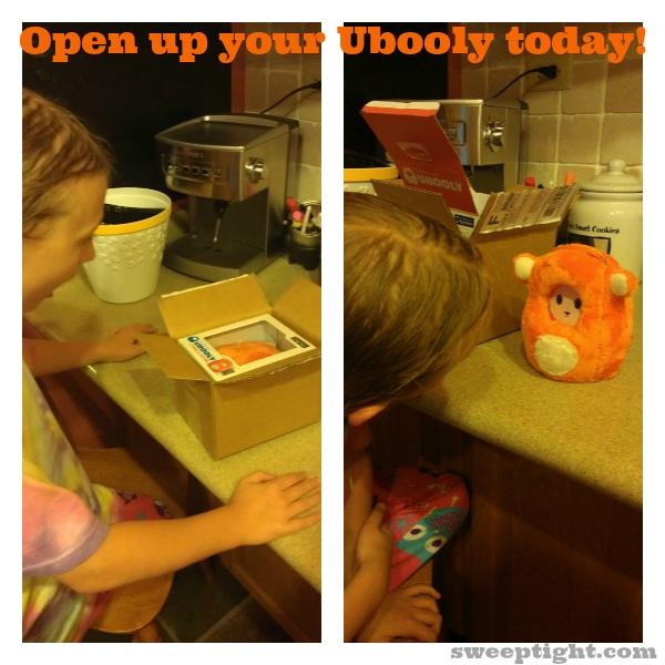 opening new toy Ubooly
