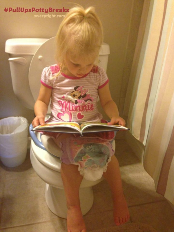 On the potty training