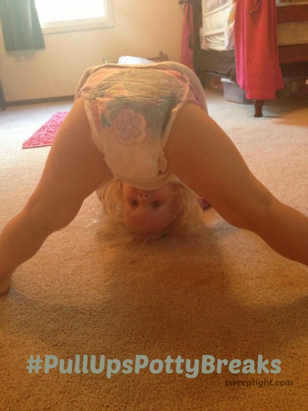 Fun with potty training with #PullUpsPottyBreaks