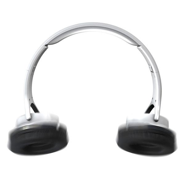 Flips headphone speakers