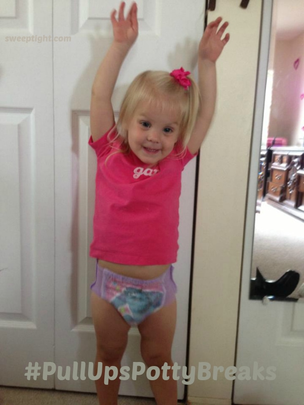 Little Monster Potty Training victory