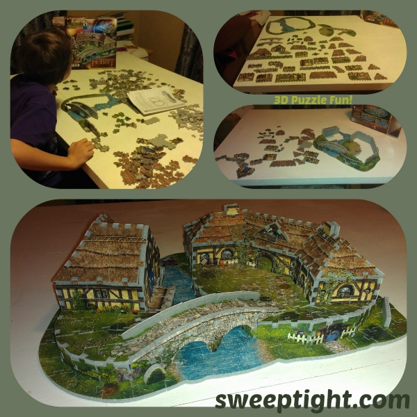 Fun With 3D Jigsaw Puzzles from Wrebbit