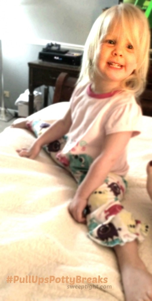 Success with potty training with Huggies Pull-Ups #PullUpsPottyBreaks