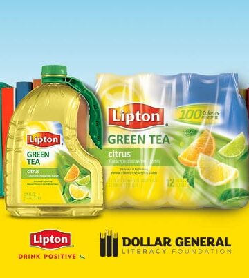 Support Literacy and Save on Lipton Pure Leaf Tea